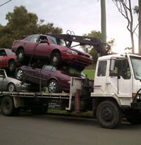 Damage Car Removal